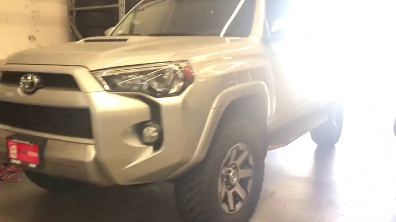 """4Runner Trd Off Road >> 2018 Toyota 4Runner TRD Offroad Leveled with 33"""" Tires ..."""