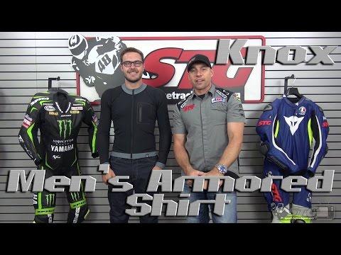 KNOX Men's Armored Shirt Review from Sportbiketrackgear.com
