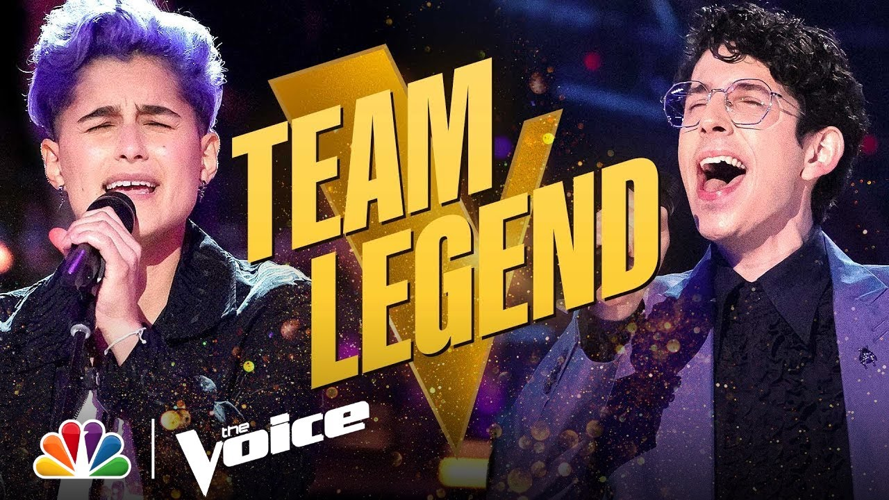 Download Such Cool Performances from Team Legend's Joshua Vacanti and Sabrina Dias | The Voice Knockouts 2021