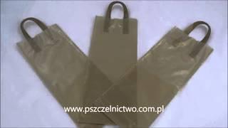 Torebki na miód pitny i wino www.pszczelnictwo.com.pl