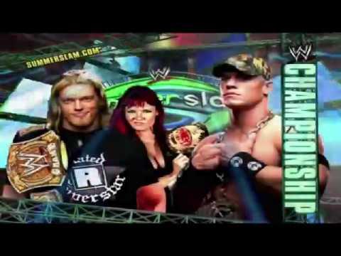 John Cena Vs Edge SummerSlam 2006 Highlights HD