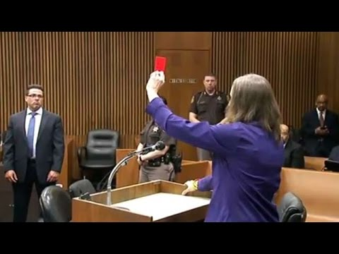 Wife of soccer ref killed by punch serves red card at sentencing