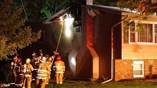 2nd Alarm House Fire East Allen Twp., PA.  10-15-13