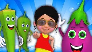 Sabzi Ki Dukan   Sabzi Hindi Song   Hindi Rhymes   3D Nursery Rhymes   Kids TV India