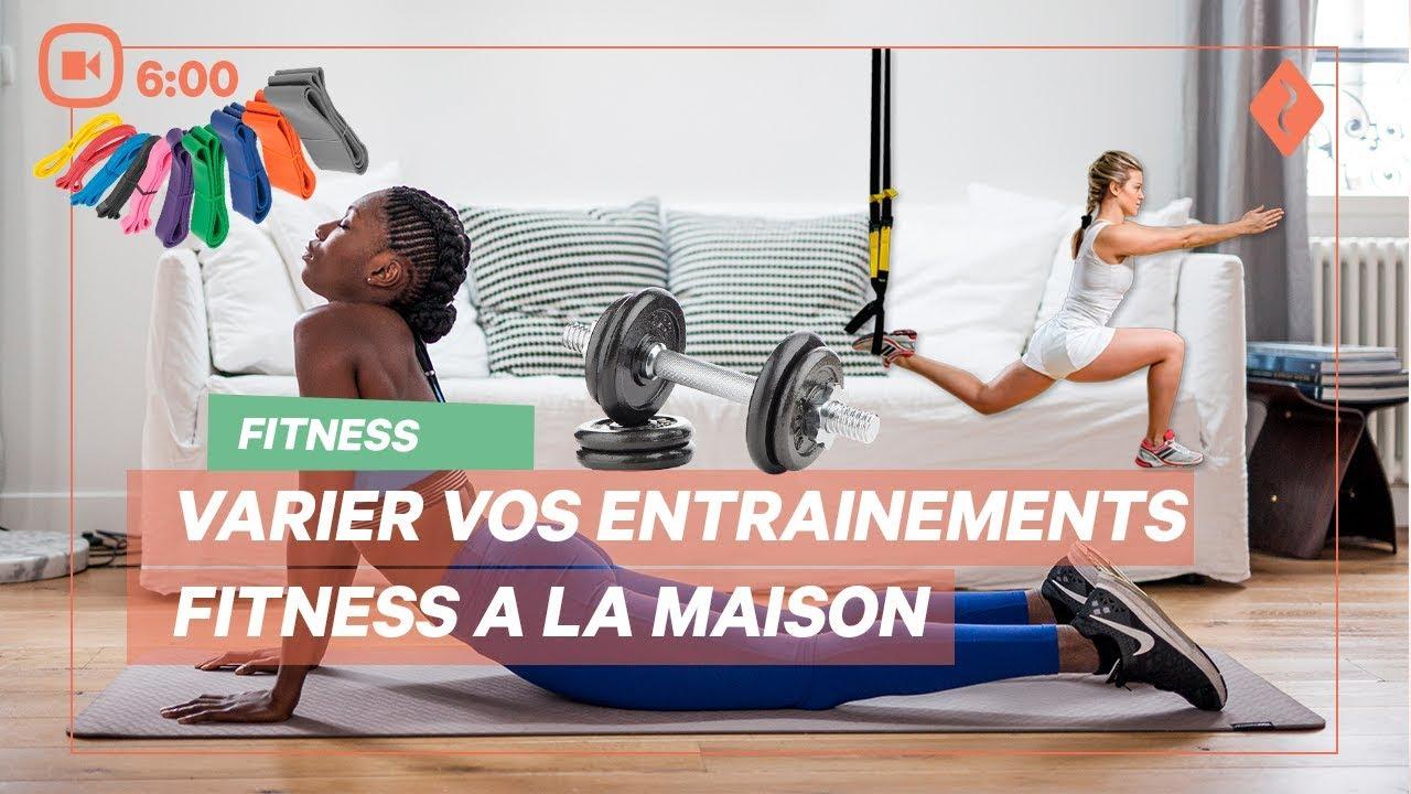 varier vos entrainements fitness a la maison belle sportive youtube. Black Bedroom Furniture Sets. Home Design Ideas