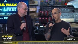 David Goyer and Ben Snow Take The Stage At SWCC 2019 | The Star Wars Show Live!