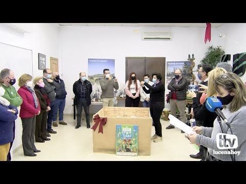 VÍDEO: La Mancomunidad de la Subbética sortea su super cesta navideña valorada en 10.000 euros.