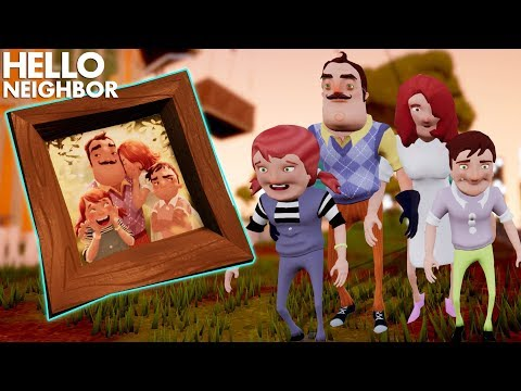 The Neighbor's Family IS FINALLY HERE TO SAY HELLO!!! | Hello Neighbor (Mods)