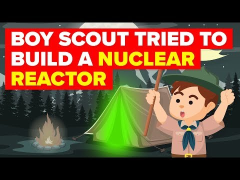 Boy Scout Tried To Build a Nuclear Reactor in His Backyard