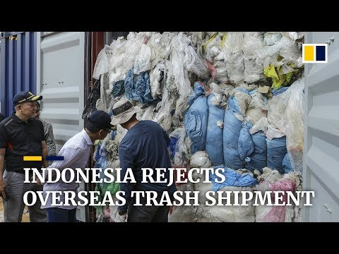 Indonesia Sends 49 Shipping Containers Of Trash Back To Europe, US, And Australia