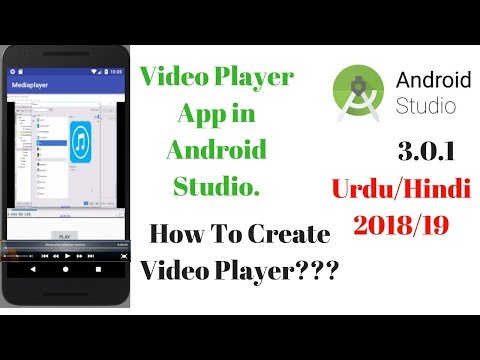 Video player app in Android Studio 3 0 1 - YouTube