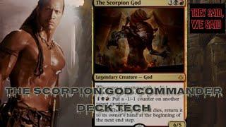 mtg commander deck tech the scorpion god