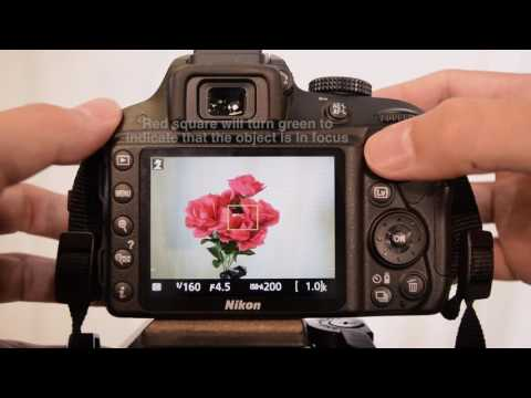 Using Nikon D3300 to Record Video