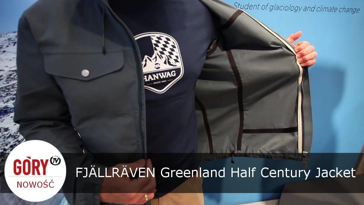 Half Jacket 2 0 >> Klasyczna, ale nowoczesna kurtka FJÄLLRÄVEN Greenland Half Century Jacket. - YouTube