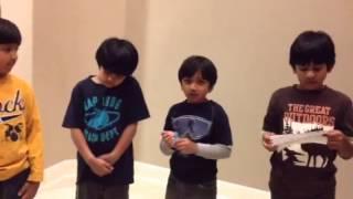 rehearsals for Sukumar Ray kobita