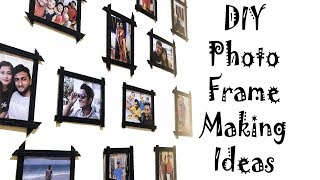 Diy Photo Frame | Frame Ideas | How To Make Photo Frame At Home | Best Out Of Waste Frames