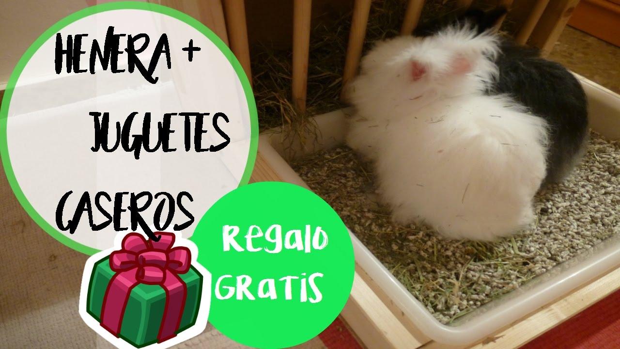 C mo hacer henera casera juguetes caseros para conejos youtube - Juguetes caseros para conejos ...
