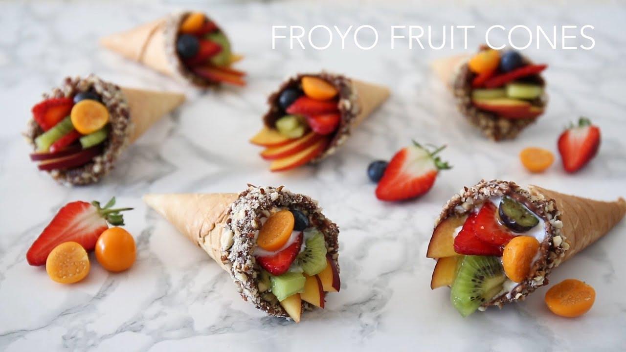 Froyo Fruit Cones