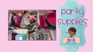 1st Birthday Doc McStuffins - Party Supplies