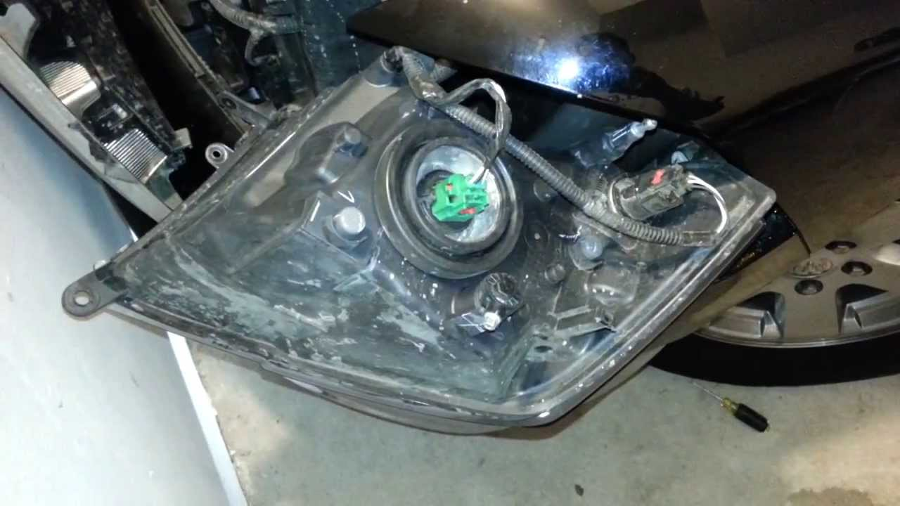 2012 dodge ram 1500 headlight assembly removed to replace bulbs link to diy guide [ 1280 x 720 Pixel ]