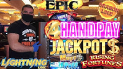 Huge High Limit Slot Play & 4 HANDPAY JACKPOTS | Epic Come Back Ever - Lightning Link MEGA JACKPOT