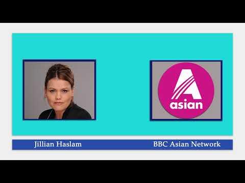Jillian Haslam on BBC Asian Network Radio