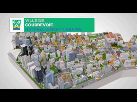 Projets urbains de la ville de Courbevoie
