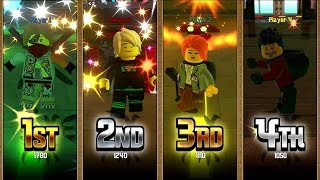 The LEGO Ninjago Movie Video Game - All Battle Arena Modes