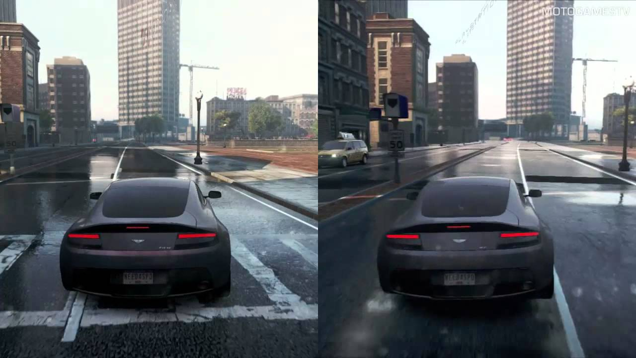 need for speed most wanted 2012 pc vs ps3 graphics. Black Bedroom Furniture Sets. Home Design Ideas