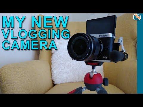 Canon EOS M6 New Vlogging Camera + External Microphone Setup