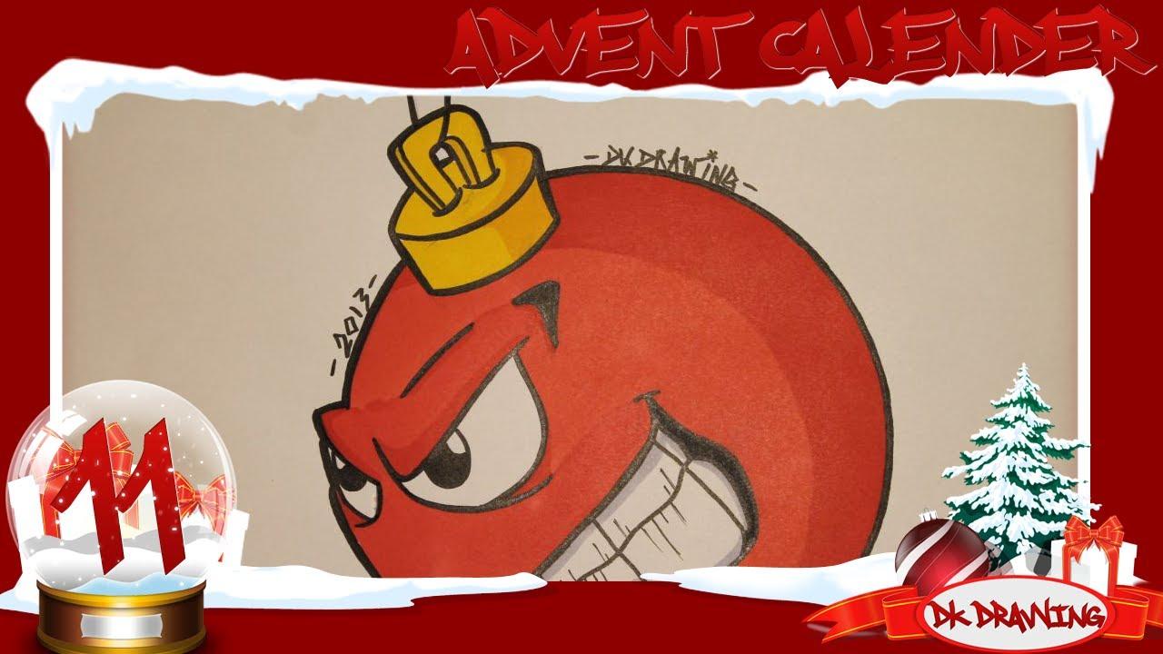 Graffiti Advent Calendar 11 Drawing A Graffiti