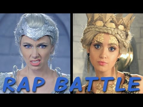 FREYA vs RAVENNA: Princess Rap Battle Laura Marano, Derek Theler, Whitney Avalon