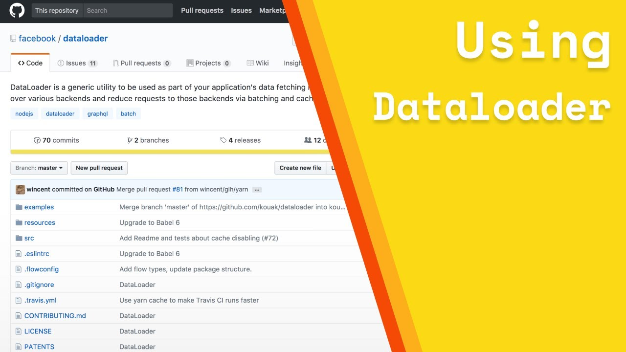 Using Dataloader to batch and cache database calls