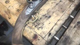 Making a flintlock pistol #14