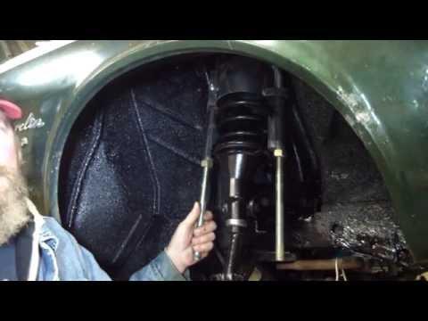 AMC Trunnion Suspension Rebuild On A 1968 Javelin