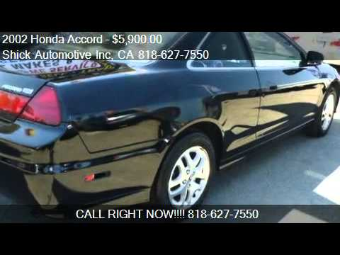 2002 Honda Accord Ex V6 Coupe For Sale In North Hills Ca Youtube