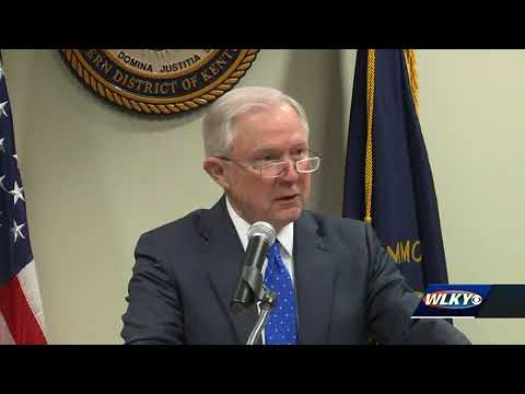 WATCH: AG Jeff Sessions speaking in Lexington on the opioid epidemic