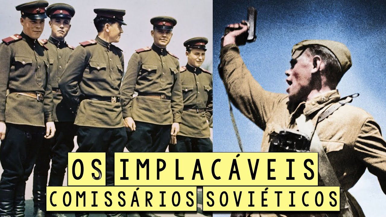 Os Implacáveis Comissários Políticos Soviéticos - Curiosidades Históricas - Foca na História #Shorts