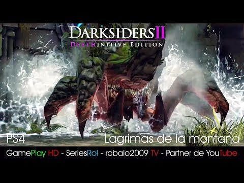 Darksiders II Deathinitive Edition PS4 - lagrimas de la montana | SeriesRol