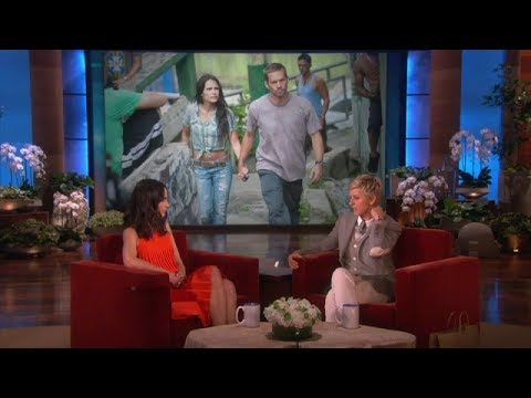 Jordana Brewster On The Ellen Show 14/03/2013 Full Interview