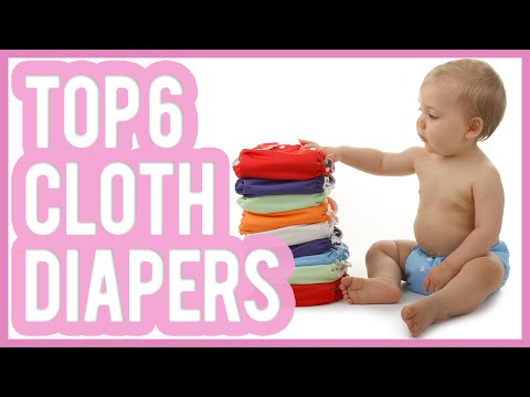Best Cloth Diaper 2016 & 2017 – TOP 6 Cloth Diapers