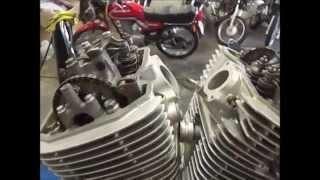 Motor Honda Shadow 600-VLX Montagem e reparos da parte de cima (Cássio mecânico)
