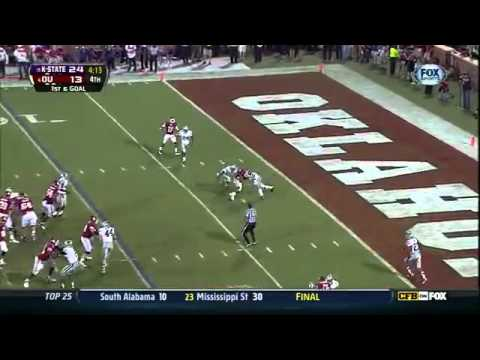 Collin Klein leads K-State to a win over Oklahoma