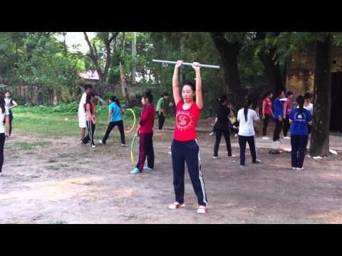 bài thể dục với gậy