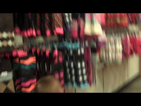 Shopping at Filenes Basement with Keira