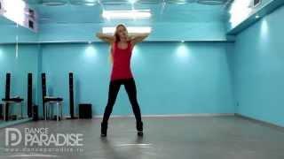 Видео уроки танцев – Go Go. Часть 6. [Школа Go-Go танцев Dance Paradise]