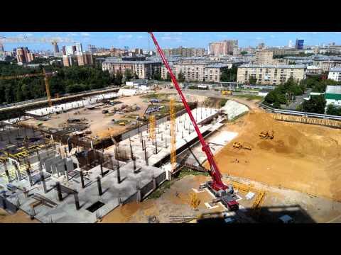 Строительство стадиона ЦСКА 21062013
