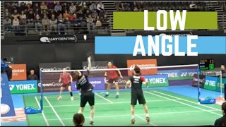 WATANABE/HIGASHINO (JPN) [2] vs KO/EOM (KOR) [LOW ANGLE] | Australian Open 2019