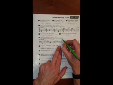 Alfreds Essentials of Music Theory Unit 13 Review