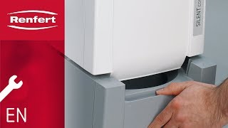 Renfert Maintenance | SILENT compact: Empty dust drawer